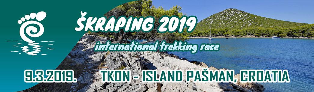 Škraping Tkon, otok Pašman 2018